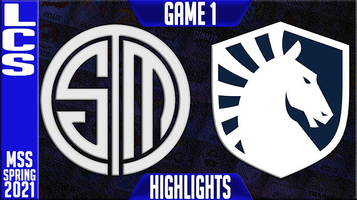 tsm vs tl highlights game 1  lcs mid season showdown playoffs round 1  team solomid vs team liquid