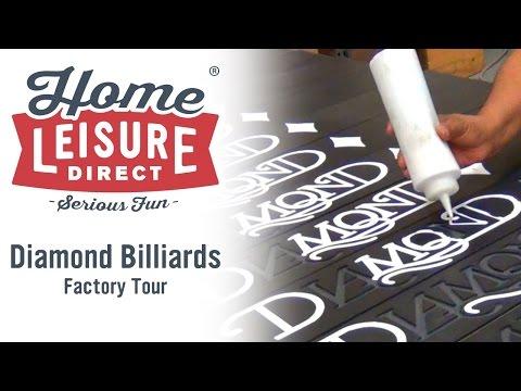 Diamond Billiards Factory Tour