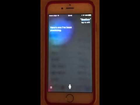 Siri consegue fazer beatbox; confira