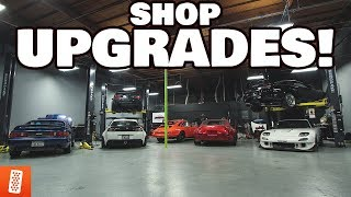 UPGRADING OUR DREAM GARAGE!!! (THE HUNTQUARTERS)