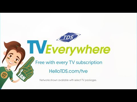 TDS TV Everywhere – Free with your TV subscription (15sec)