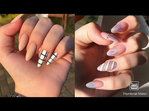 simple nail art designs 💅 most amazing colour most