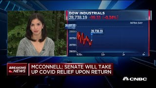 Mitch McConnell: Senate wİll take up Covid-19 small business relief when it returns