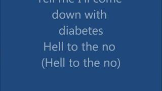 Hello to the no - Glee (Lyrics)