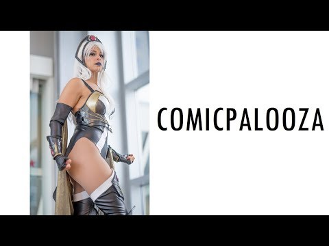 THIS IS COMICPALOOZA 2018 COSPLAY MUSIC VIDEO VLOG ANIME COMIC CON HOUSTON TEXAS