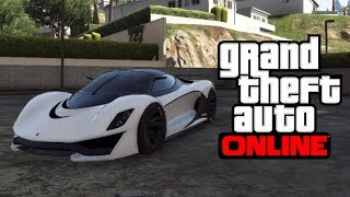 "GTA 5: McLaren P1 on GTA 5 - New ""GROTTI TURISMO R"" Car! - Turismo VS Adder?"
