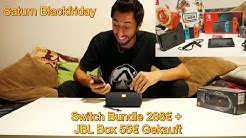 Kuba Benny Vlog #6 News/Blackfriday Angebot Saturn Einkauf /Switch Bundle + JBL Essential /Unboxing