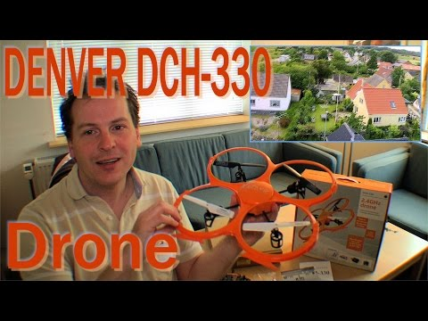 Unboxing DENVER DCH-330 Drone, review and play - 204