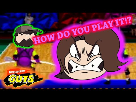Game Grumps VS: Arin Rage in Nickelodeon Guts/Jon Not Telling Arin How to Play Nickelodeon Guts  