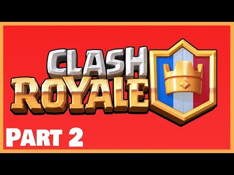Filling up chest slots in Clash Royale!