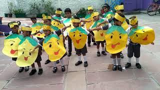 Mango Day celebration.... class pg.... D. K. Public School, Buddheshwar, lko thumbnail