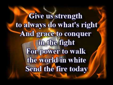 Send The Fire - Lindell Cooley - Worship Video With Lyrics