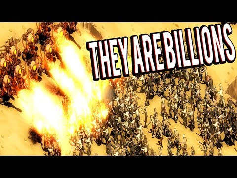 BURNING THE ENTIRE ZOMBIE HORDE! FIGHTING THE FINAL WAVE - THEY ARE BILLIONS GAMEPLAY LETS PLAY