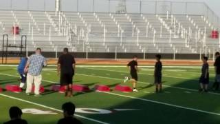 My football practice