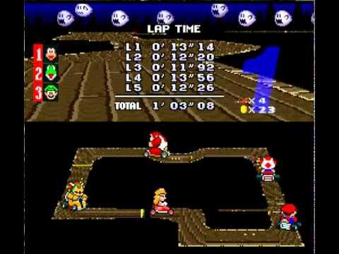 Let S Play Super Mario Kart Mushroom Cup 150cc Youtube