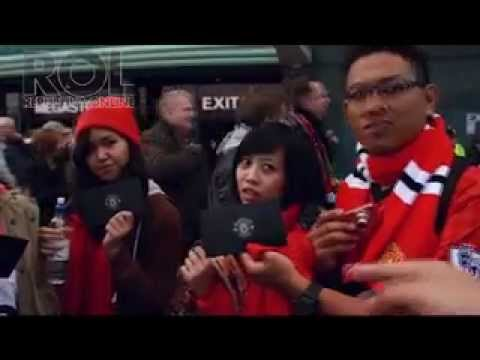 iProud - Saat Lagu Liberty Victory Nidji Terdengar di Old Trafford, Manchester