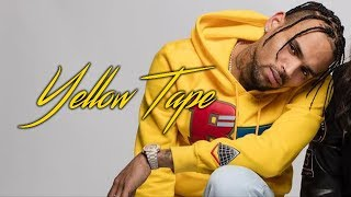 Chris Brown - Yellow Tape (Lyric Video)