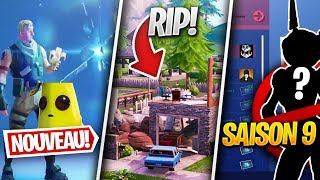 PLEASANT PARK ATTACKED, SKINS of DEFIS SAISON 9 - Others on FORTNITE! (Fortnite News)