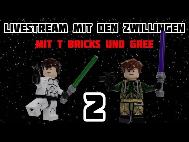 Livestream mit den Zwillingen 2 (mit T Bricks)