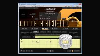 �������� ���� RealGuitar 4. Song Mode. Strumming ������