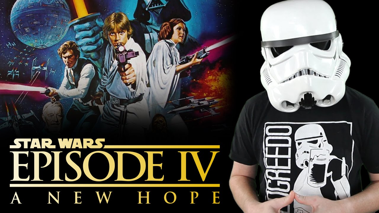 Star Wars Episode 4 A New Hope Review Youtube