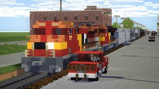 Minecraft Unstoppable Train Animation Part 8
