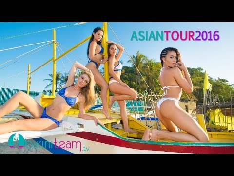 BikiniTeam Asian Tour - Boracay Philippines 2016 [HD]