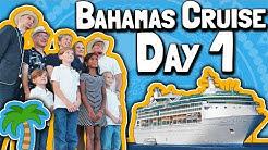 Bahamas Cruise 2018 (Day 1): Setting Sail for Nassau 🌴🌅⛵👓