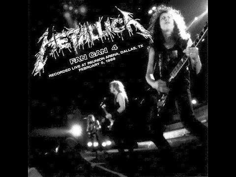 Metallica - Fan Can IV: Live in Dallas (2/05/89)