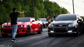 Chevy Holden SS vs Chevrolet Camaro SS