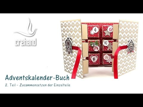 diy adventskalender selbst gestalten teil 2 mit crehand und stampin up youtube. Black Bedroom Furniture Sets. Home Design Ideas