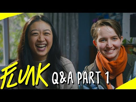 Q&A With Jess (Ingrid) & Kelsie (Dani) Part 1 - FLUNK LGBT Series Behind The Scene