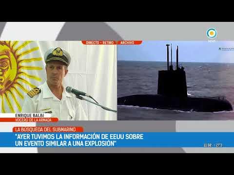Submarino ARA San Juan: La Armada confirmó una explosión | #TPANoticias