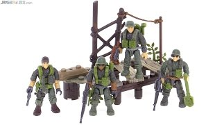 Mega Bloks Vietnam-era Call of Duty Jungle Rangers review!
