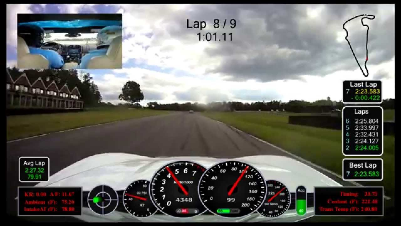Telemetry over video? How? - CorvetteForum - Chevrolet Corvette