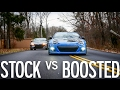 Stock FRS vs Supercharged BRZ