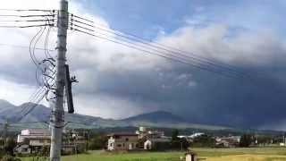 阿蘇の皆さんきよつけて!噴火警戒レベル3です!