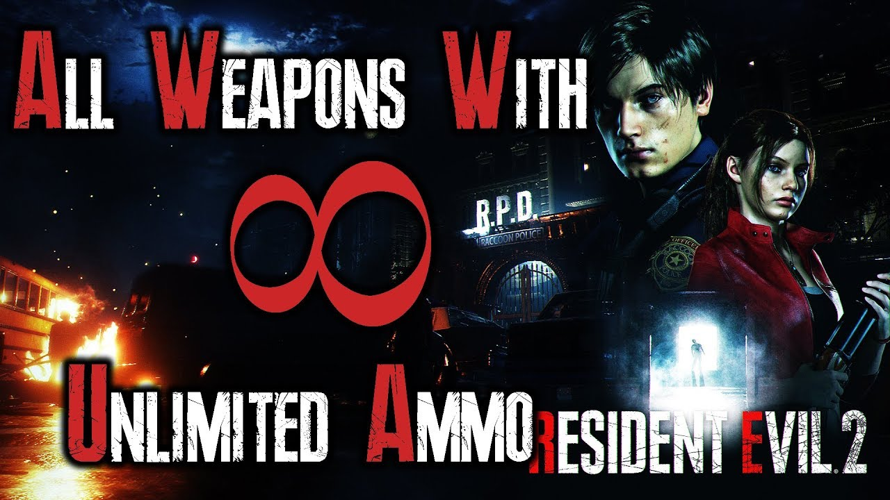 Resident Evil 2 Remake All Weapons With Infinite Ammo | How to get them |  Their power against Mr  X