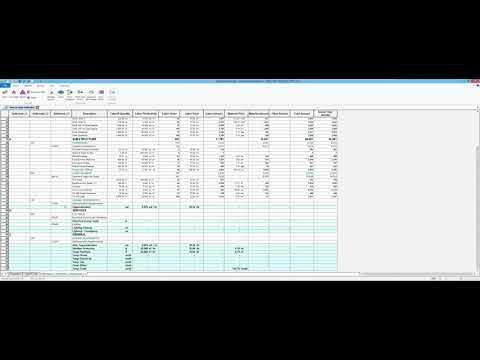 Using Uniformat In Your Master Format Database In Sage Estimating SQL