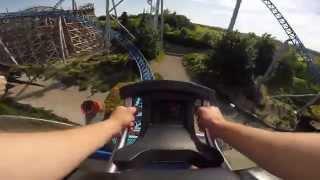 Blue Fire Mega Coaster - Europa Park, Germany | Onride HD [2015]