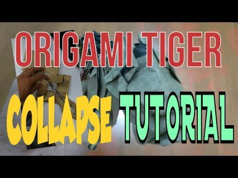 Origami Tiger Tutorial Part 2 - How to