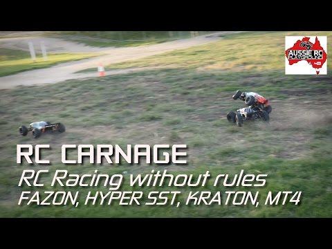 RC Carnage - Round 1 - Kraton, FAZON, MT4 & Hyper SST