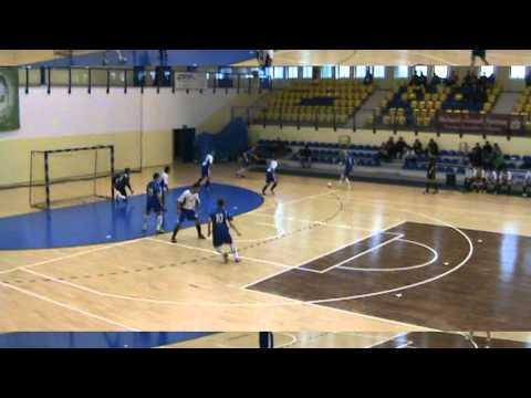 Finał AMP w Futsalu - Katowice 2012' cz.11 * AZS UG Gdańsk - UR Rzeszów * 1 połowa