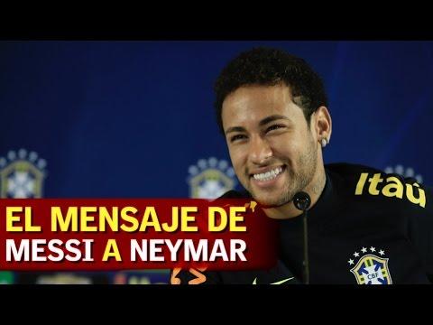 El mensaje de Messi a Neymar cuando llegó al Barcelona | Diario AS