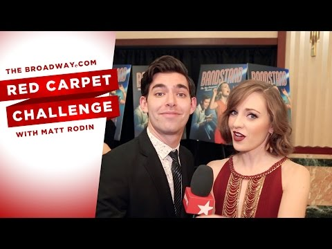 RED CARPET CHALLENGE: BANDSTAND with Laura Osnes, Corey Cott, Bernadette Peters and more!
