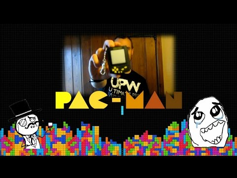 POCKET REVIEW - PACMAN - BEST LCD HANDHELD EVER!