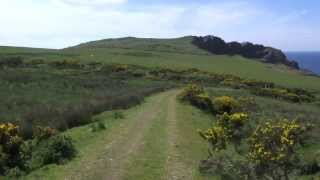 Walking on the Lleyn Peninsula: Pistyll, nr Nefyn, North Wales