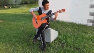 Испанский музыка на гитаре