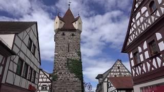Exploring the old town of herzogenaurach