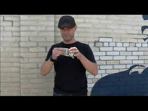 $100 Dollar Bill Trick By Revolution Magic Switch Change